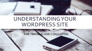 Understanding your WordPress site