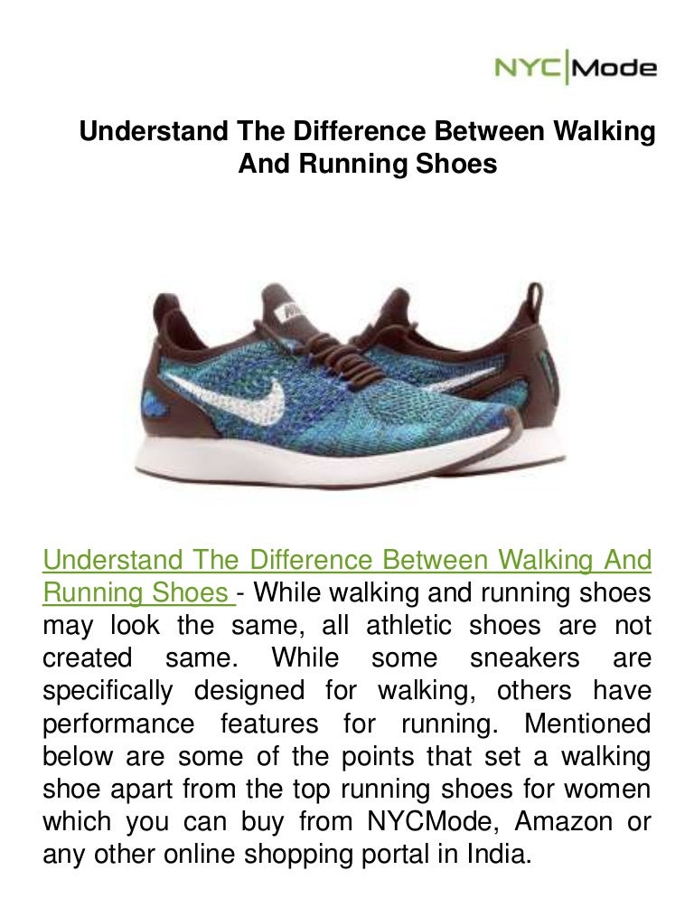 Difference Between Walking