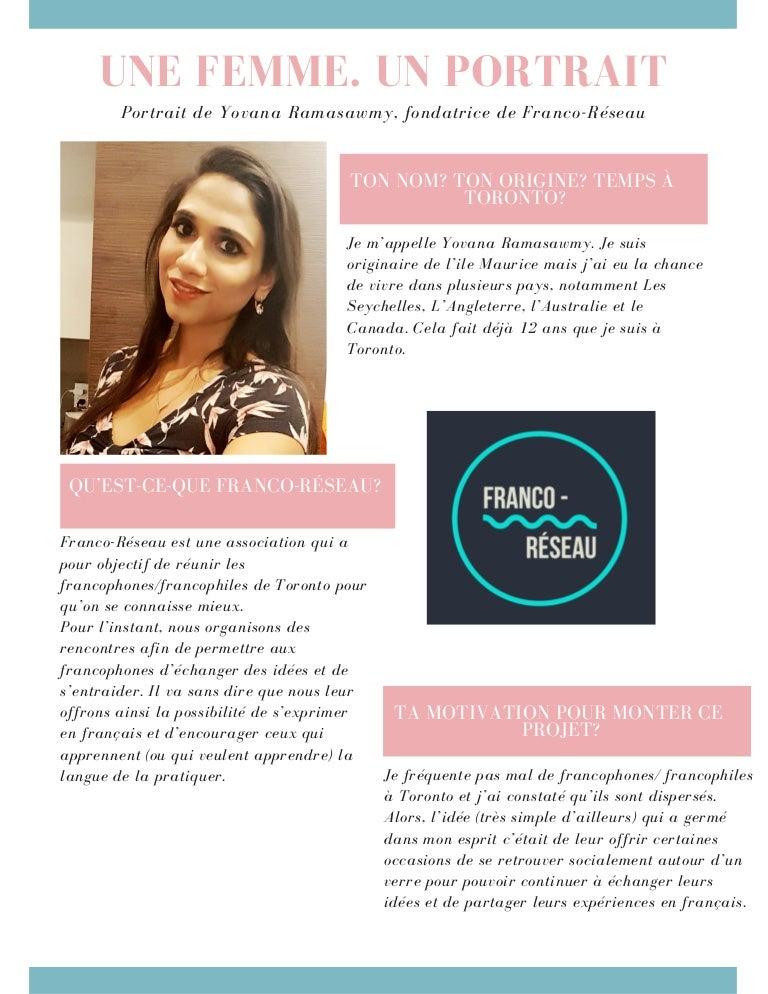 site de rencontre francophone australie