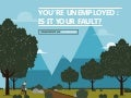 You're Unemployed: Is It Your Fault?