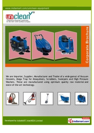 Uniclean Equipments Private Limited, Bengaluru, Household Vacuum Cleaner