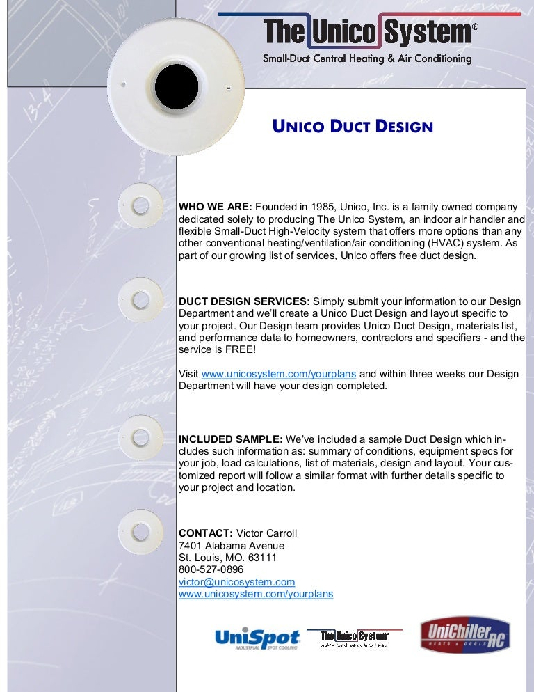 Unico Duct Design L Unique Indoor Comfort Libertyville