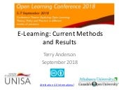 E-Research Open Learning Conference Unisa 2018