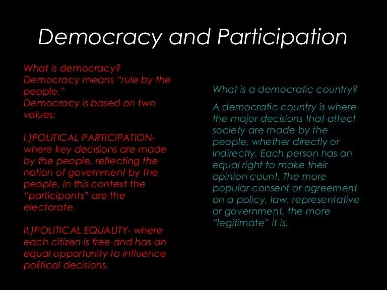 benefits of representative democracy