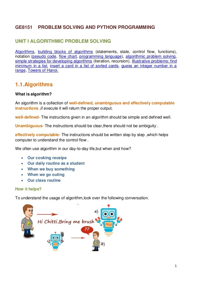 Algorithmic language is a formal language used to write, implement, or study algorithms. Main service words of an algorithmic language 69
