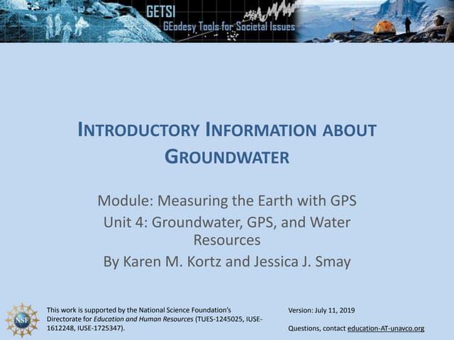 Unit 4 Introductory slides