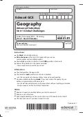 Unit 1 exam paper jan 2011