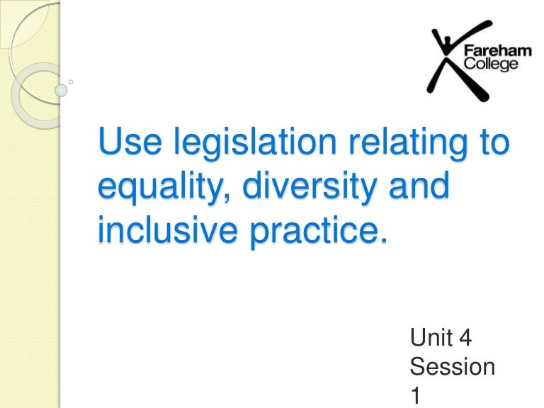 explain how inclusive practice promotes equality and supports diversity