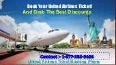 Call 1-877-285-3426 United Airlines Ticket Booking Phone Number