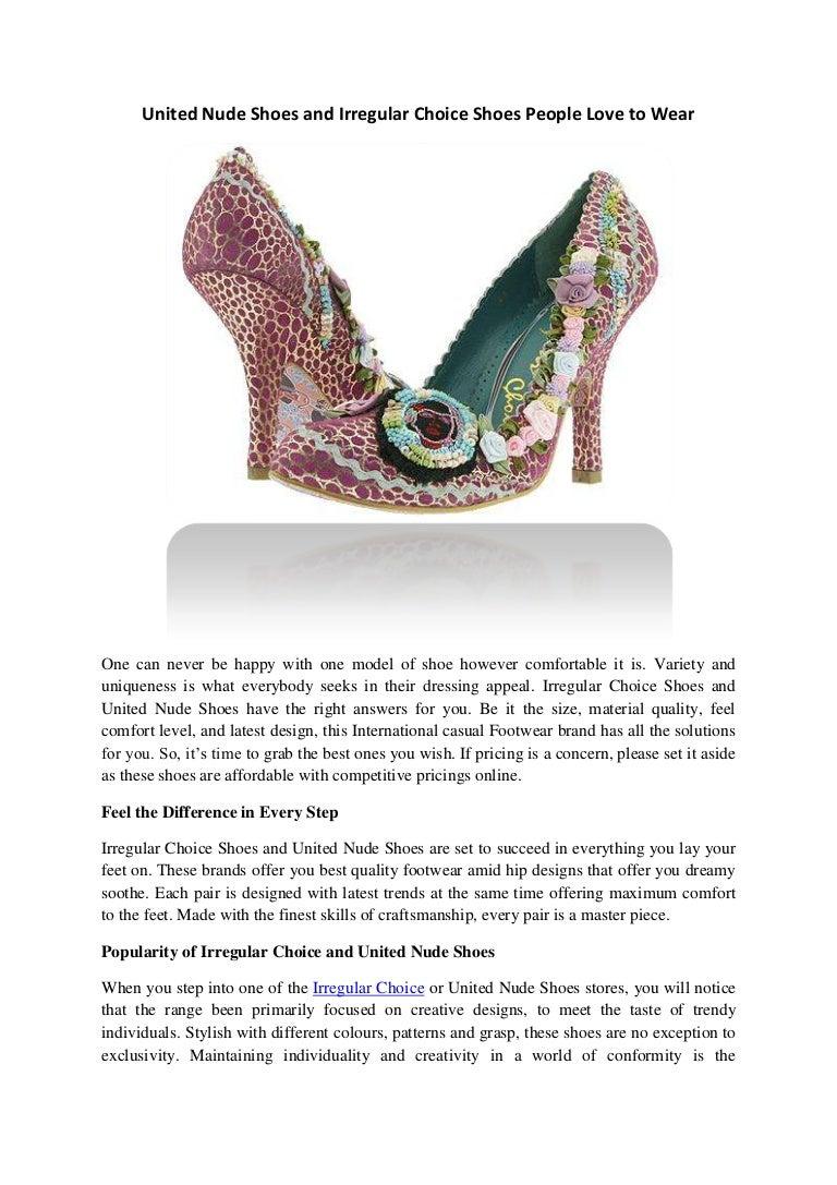 Irregular Choice Shoes People Love to Wear