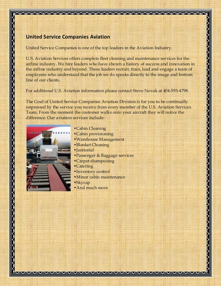 United Service Companies Aviation