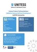UNITESS — Testing Laboratory Automation