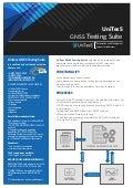 UNITESS GNSS Testing Suite