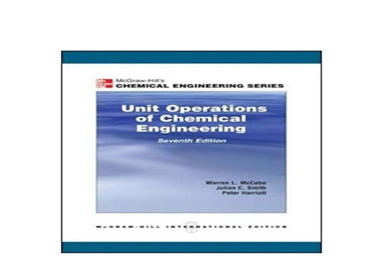 unit operations of chemical engineering 7th edition free ebook download