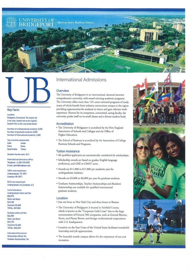 University Of Bridgeport Tuition >> University Of Bridgeport Scholarships