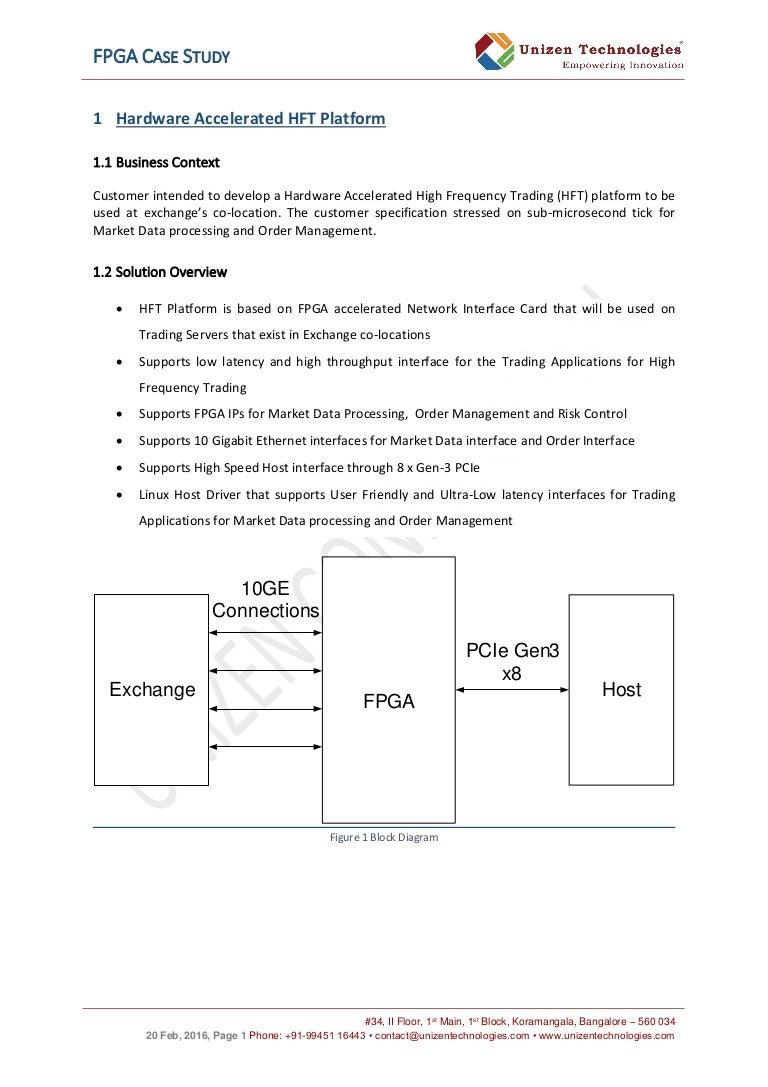 Unizen Fpga Case Study Omap 5 Block Diagram