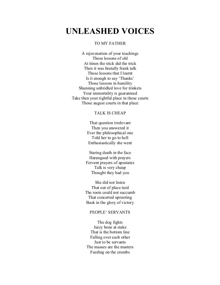 Unleashed Voices Poetry