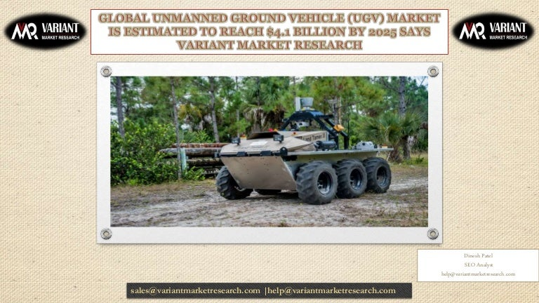Unmanned ground vehicle (ugv) market