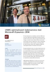 UNMS Business Case (Public Sector) in Dutch