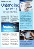Untangling the Web - Social Media Article