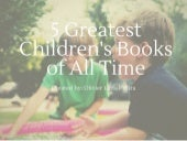 5 Greatest Children's Books of All Time as told by Olivier Lavau-Wira