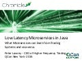 Low Latency Microservices in Java