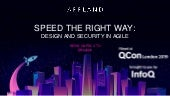 Speed the Right Way: Design and Security in Agile