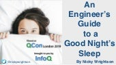 An Engineer's Guide to a Good Night's Sleep
