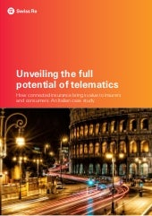 The full potential of insurance telematics