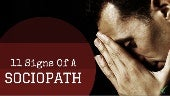 11 Signs Of A Sneaky Sociopath