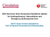 CPR2015 update: ACS and Special circumstances