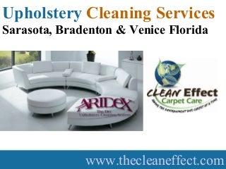 Upholstery Cleaning Services Sarasota, Bradenton & Venice Florida