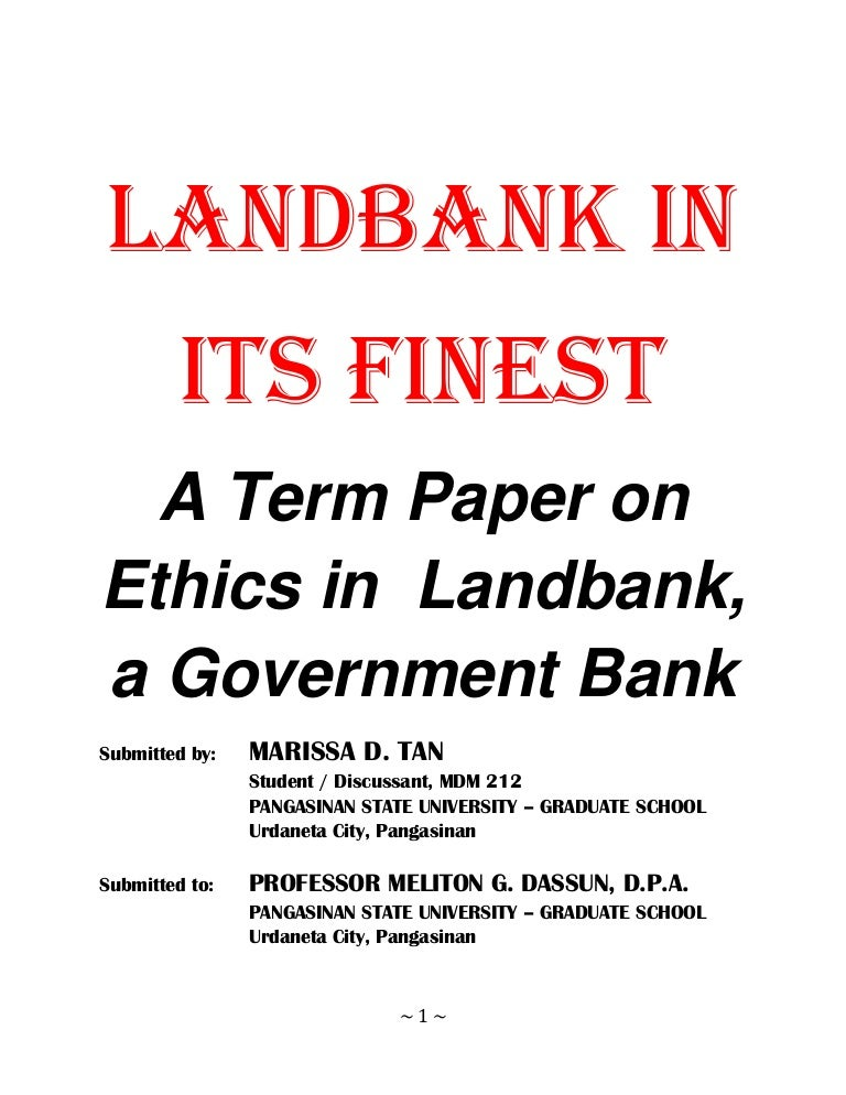 applied ethics term paper Business ethics paper the same ethical issues in the business world have been around for a long time in theory business ethics is a practical regulation.