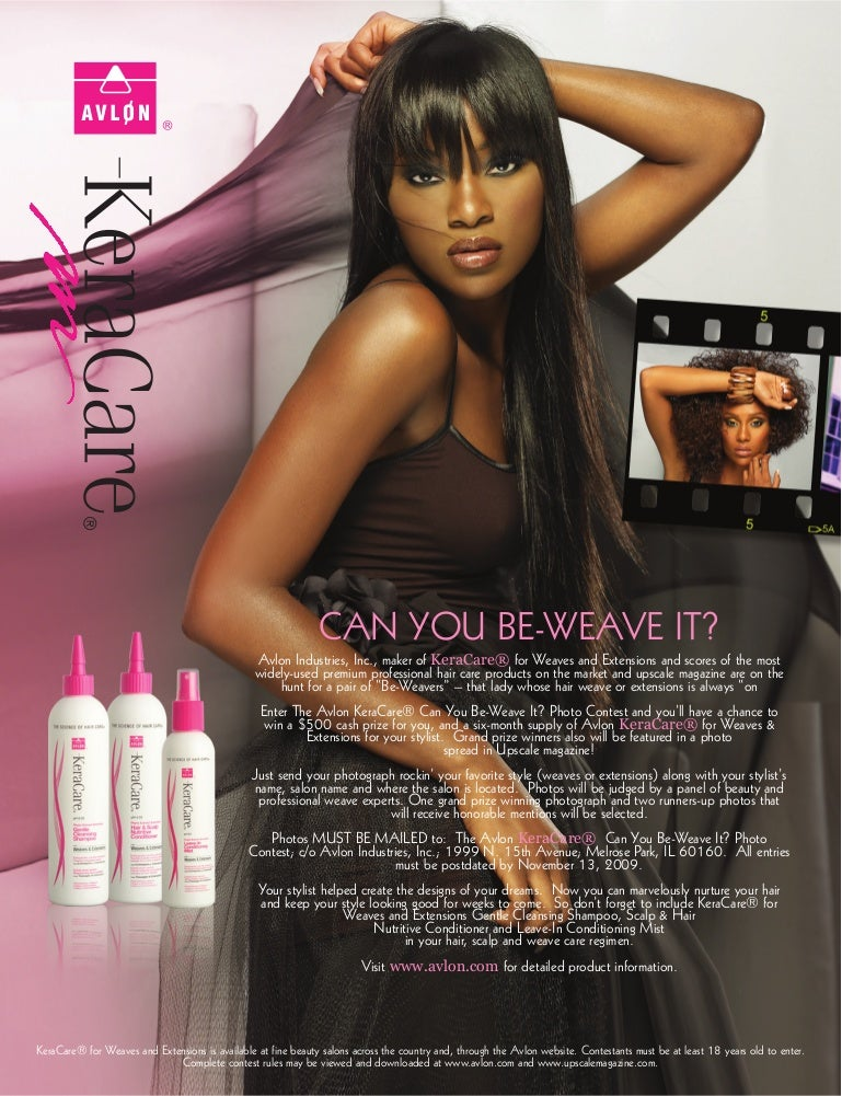Avlon Keracare Can You Be Weave It Photo Contest