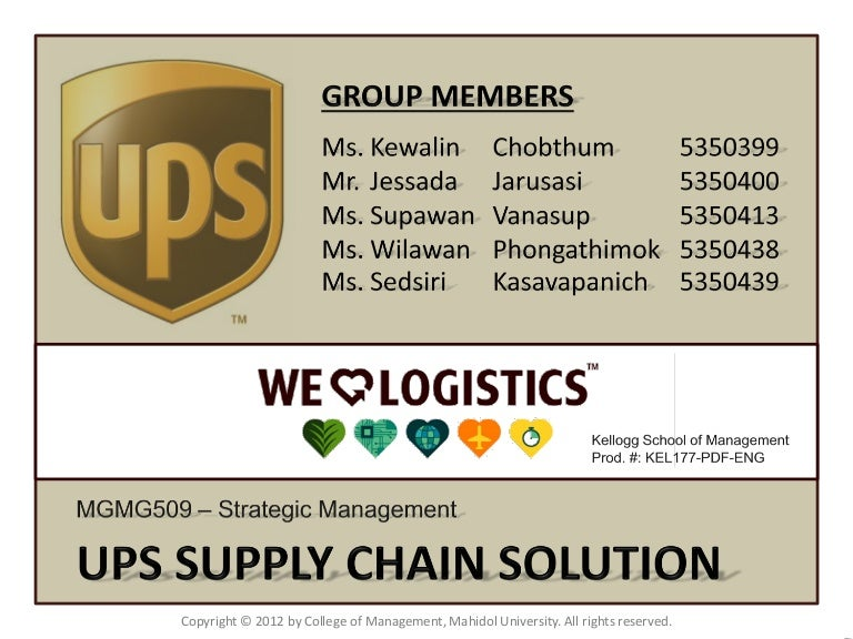 solution of the case study ups vs fedex The case discusses in detail about the entry and expansion strategies of the two us-based logistics companies - fedex and ups in the chinese market the case examines the contrasting strategies adopted by fedex and ups in their efforts to establish presence in china.
