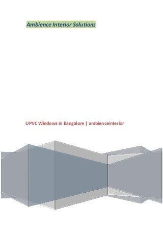 upvcwindowsinbangalore-140819052313-phpa