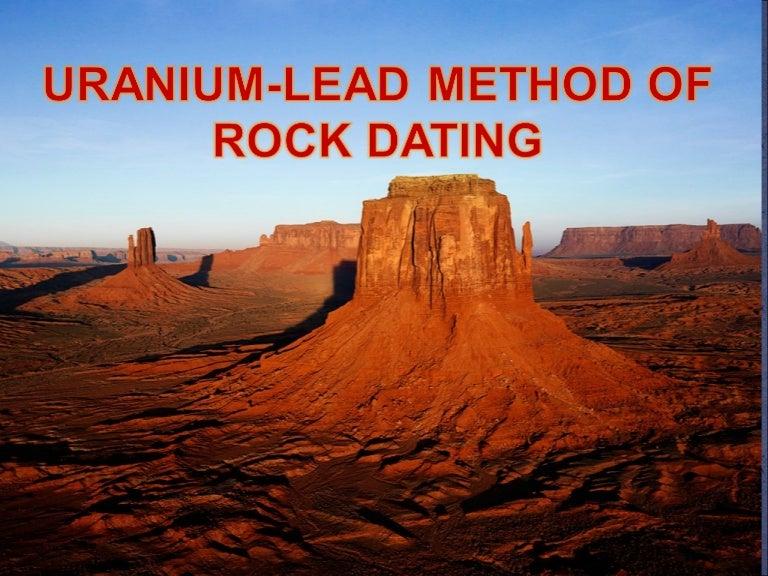 dating rocks uraniu