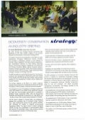 UDIA Urban Affairs - Biodiversity Conservation Strategy Article