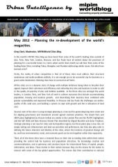 Urban Intelligence - May 2012 - Planning re-development of the world megacities