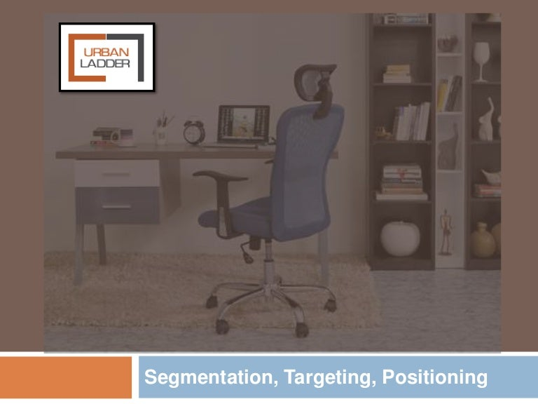 Urban ladder segmentation targeting and positioning analysis