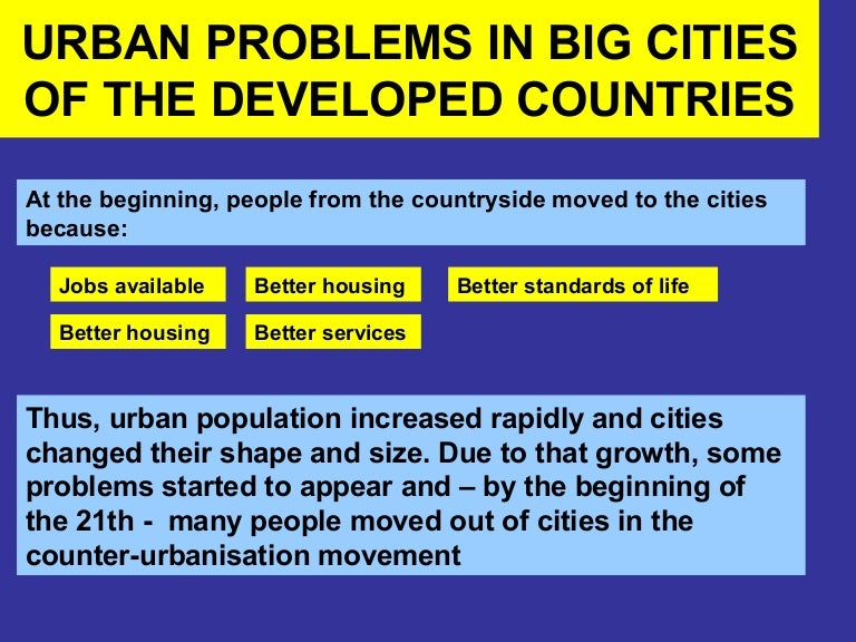 why do people move from the countryside to the city Why kenyans want to live in cities submitted by moses nyakoyo on fri, 06/10/2011 - 07:29 this is the simplest question yet the most difficult one when it comes to solving.