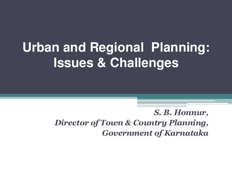 Urban and Regional Planning - Dawn Wright
