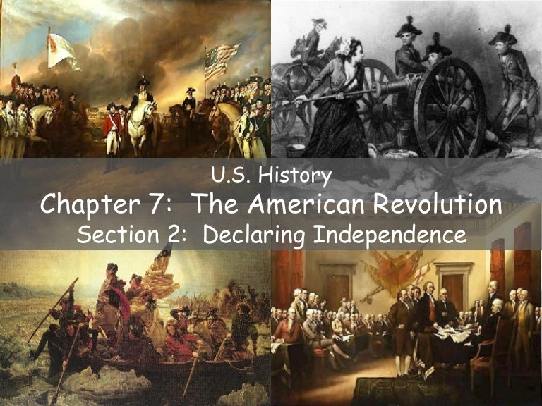 US History Ch 7.2