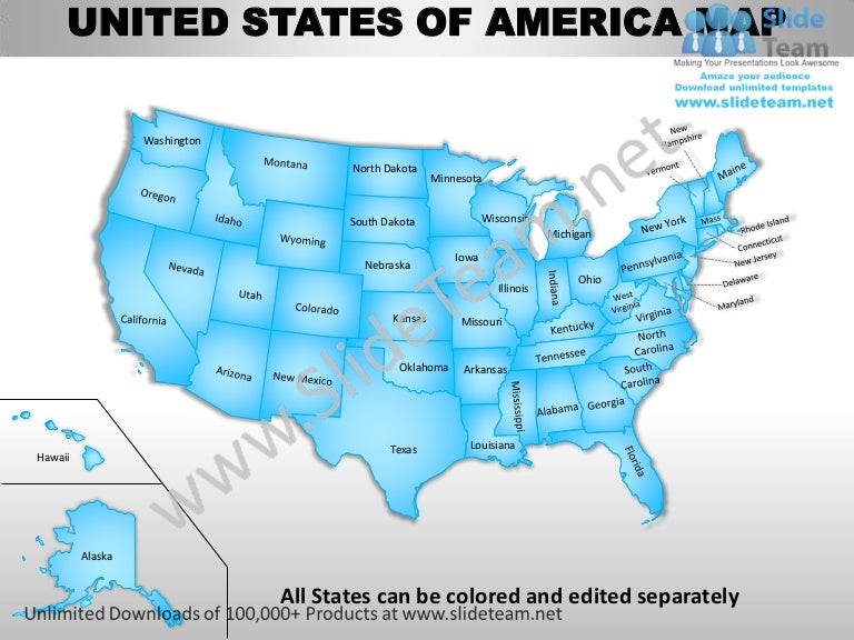 free editable maps of usa