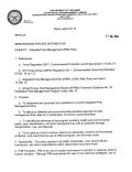 USAG Red Cloud Command Policy 6-15 Integrated Pest Management (IPM) Policy