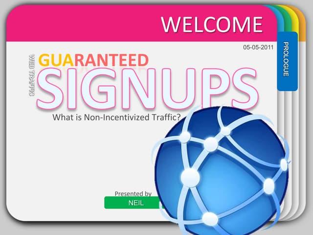 Guaranteed dating signups