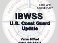 2018 IBWSS: U.S. Coast Guard Update