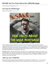 USDA Mortgage Facts Home Buyers Should Know