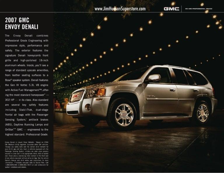 used 2007 gmc envoy denali columbia sc rh slideshare net 2007 GMC Envoy Denali Problems 2007 GMC Envoy Denali Interior