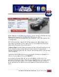 Used 2009 honda accord sdn for sale near austin tx